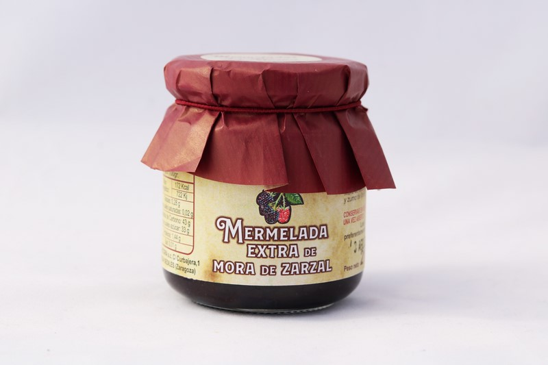 Mermelada Extra de Mora de Zarzal